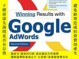 二手書博民逛書店Winning罕見Results With Google Adwords, Second EditionY25