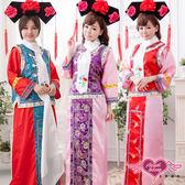 旗袍 角色扮演 促銷出清35折起+滿2000折200 紅/紫/藍 宮廷格格 中國風公主 角色扮演  尾牙表演服