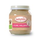 BABYBIO 有機洋梨鮮果泥/果泥130ml-法國原裝進口4個月以上嬰幼兒專屬副食品