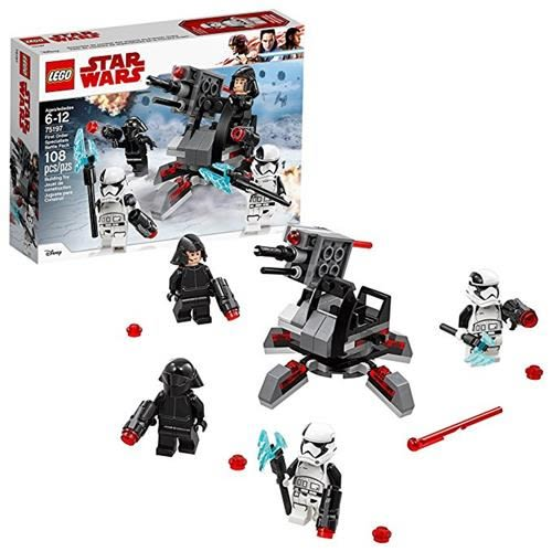 LEGO 樂高 Star Wars: The Last Jedi First Order Specialists Battle Pack 75197 Building Kit (108 Piece)