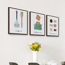 餐廳裝飾畫創意個性飯廳掛畫現代簡約墻面單幅美式廚房水果壁畫 YTL