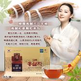 韓國高麗元 6年根高麗紅蔘顆粒茶包100入/盒