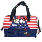 〔小禮堂〕Hello Kitty 梯形保...