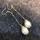 Beatrice Bijoux 雨滴珍珠耳環