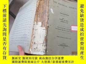 二手書博民逛書店THE罕見PHYSICAL SOCIETY VOL.39 540