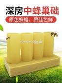 中蜂巢礎片深房蜂巢蜂蠟蜂箱養蜂工具蜜蜂巢脾巢基30片巢皮 YXS 【快速出貨】