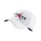 Nike 帽子 Jordan Jumpman Legacy91 Air Cap 白 紅 男女款 喬丹 棒球帽 【ACS】 CK1248-100