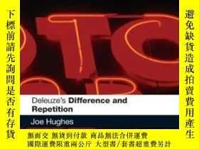 二手書博民逛書店Deleuze s罕見Difference And Repetition-德勒茲的差異與重復Y436638 J