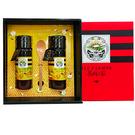 黃金流蜜禮盒禮盒-金鐉蜂蜜425g(2瓶),特惠88折【養蜂人家】
