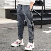 男裝防蚊褲男童2020新款夏季新款薄款中大童兒童運動褲韓版休閒潮-完美