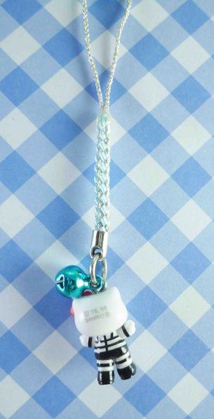【震撼精品百貨】Hello Kitty 凱蒂貓~限定版手機吊飾-西川貴教黑