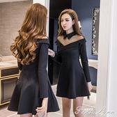 秋冬洋裝性感夜店女裝小個子秋裝2020年新款女減齡顯瘦氣質裙子 蘇菲小店