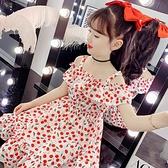 女童洋裝 女童雪紡連身裙夏裝2021新款女孩中大童兒童網紅夏季洋氣公主裙子【快速出貨】