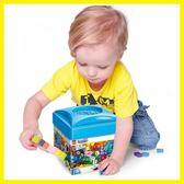 雙十二狂歡顆粒積木玩具460片創意桶拼裝積木小顆粒兼容 樂高玩具3-6-10周歲