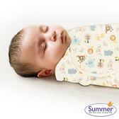 美國 Summer - SwaddleMe 嬰兒包巾 懶人包巾薄款 - 純棉S 童趣森林