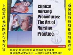 二手書博民逛書店CLINICAL罕見NURSING PROCEDURES: THE ART OF NURSING PRACTICE