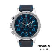 【酷伯史東】NIXON 48-20 正裝錶 休閒錶 海軍藍 潮人裝備 潮人態度 禮物首選