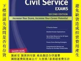 二手書博民逛書店Kaplan罕見Civil Service ExamsY362136 Kaplan Test Prep ...