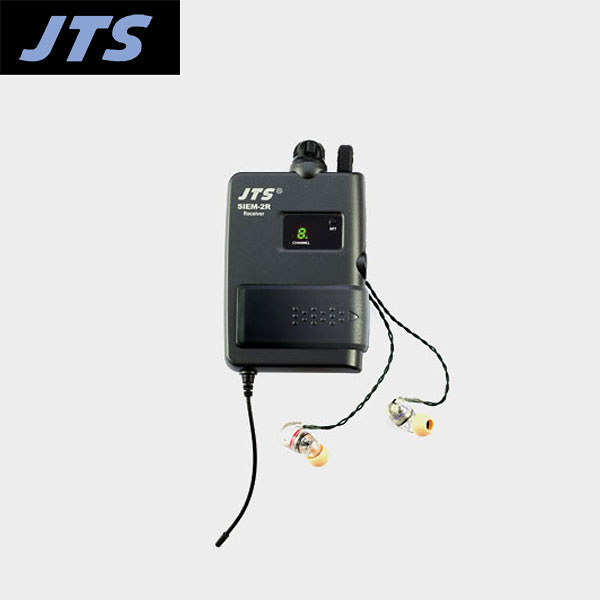 小叮噹的店- 台灣 JTS SIEM-2R 腰掛式接收機+耳機