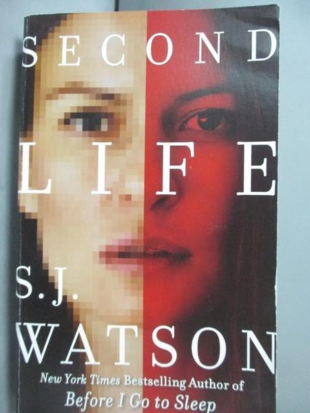 【書寶二手書T6/原文小說_LCO】Second Life_S. J. Watson