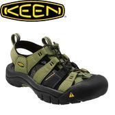【KEEN 美國 男款 護趾涼鞋〈綠/黑〉】1012205/護趾涼鞋/涼鞋/水陸兩用★滿額送