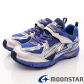 【MOONSTAR】日本月星競速童鞋-競速運動款-SSJ7435藍(19cm-24.5cm)