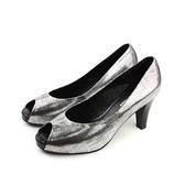 HUMAN PEACE 高跟鞋 銀色 女鞋 no241