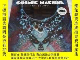 二手書博民逛書店COSMIC罕見MACHINE THE SEQUEL (內附兩張唱片)Y258294