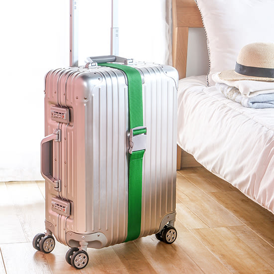 ♚MY COLOR♚行李箱加固綑綁帶 旅行 出差 綁帶 一字打包帶 拉桿箱 旅行箱【L189】