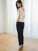 秋冬8折[H2O]台灣製造舒適合身清涼紗內搭長褲 - 黑色 #9658001