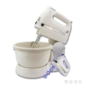 220V電動打蛋器帶桶和面臺式家用手持烘焙祁和打蛋機攪拌 QQ29854『東京衣社』