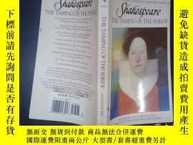 二手書博民逛書店THE罕見TAMING OF THE SHREW(詳見圖)Y65