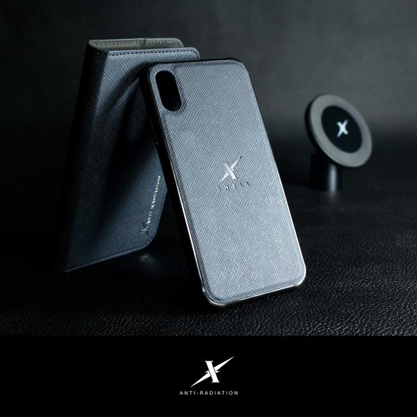 iPhone XR 磁吸式防電磁波手機皮套【Moxie摩新】