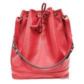 【Louis Vuitton 路易威登】M5900E 水波紋防刮水桶包(7.5成新)