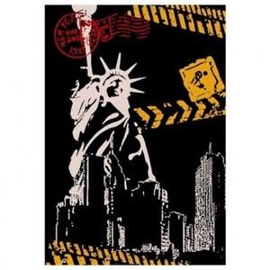 藝術紐約地毯60x100cm 自由女神