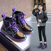 兒童馬丁靴2020年新款女童靴子秋冬季雪地靴百搭短靴加絨皮靴棉靴 艾瑞斯