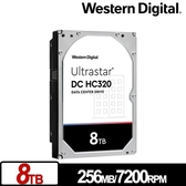 WD Ultrastar DC HC320 8TB 3.5吋 企業級硬碟 (HUS728T8TALE6L4/0B36404)