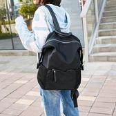 後背包雙肩包女2019新款韓版潮牛津布旅行包大容量百搭帆布背包街拍書包『櫻花小屋』
