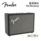 【結帳再折+分期0利率】Fender 美國 The Monterey 經典復刻 無線藍牙喇叭 台灣公司貨