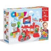 《義大利 Clemmy》軟質積木-消防大隊←軟積木 嬰兒玩具 彌月禮盒