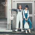 Queen Shop【04050567】多口袋造型扣帶連身褲 兩色售*現+預*