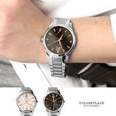 Valentino范倫鐵諾 不鏽鋼手錶腕錶 經典24小時飛返指針功能 藍寶石水晶 柒彩年代【NE1397】單支