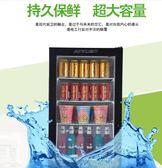 酸奶冷藏櫃商用單門牛奶飲料展示櫃立式家用水果保鮮櫃小型冰箱櫃igo 【Pink Q】