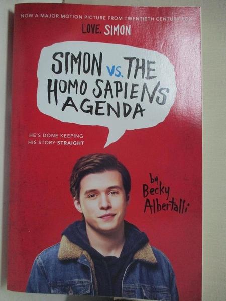 【書寶二手書T6/原文小說_HLY】Simon vs. the Homo Sapiens Agenda_Albertalli, Becky
