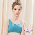 【南紡購物中心】可蘭霓Clany涼感奈米高科技無痕零著感M-2XL無鋼圈內衣 藍色力量 6959-53
