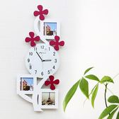 掛鐘客廳靜音相框時尚創意臥室兒童房藝術掛錶個性時鐘牆鐘xw 全館免運