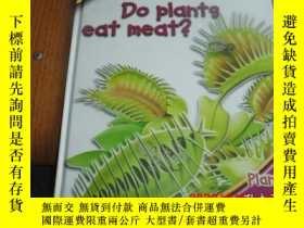 二手書博民逛書店ASK罕見ME : do plants eat meat? ( 英文原版:十万个为什么)Y25524
