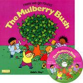 『鬆聽出英語力--第16週』- HERE WE GO ROUND THE MULBERRY BUSH /英文繪本附CD(JY版)