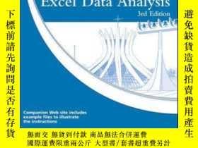 二手書博民逛書店Excel罕見Data Analysis: Your visual blueprint for creating