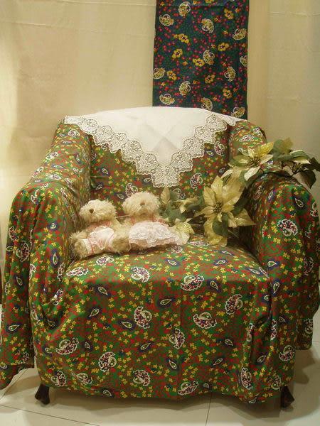 沙發罩(1+2+3人)整組 (不含熊 花  白沙發巾)